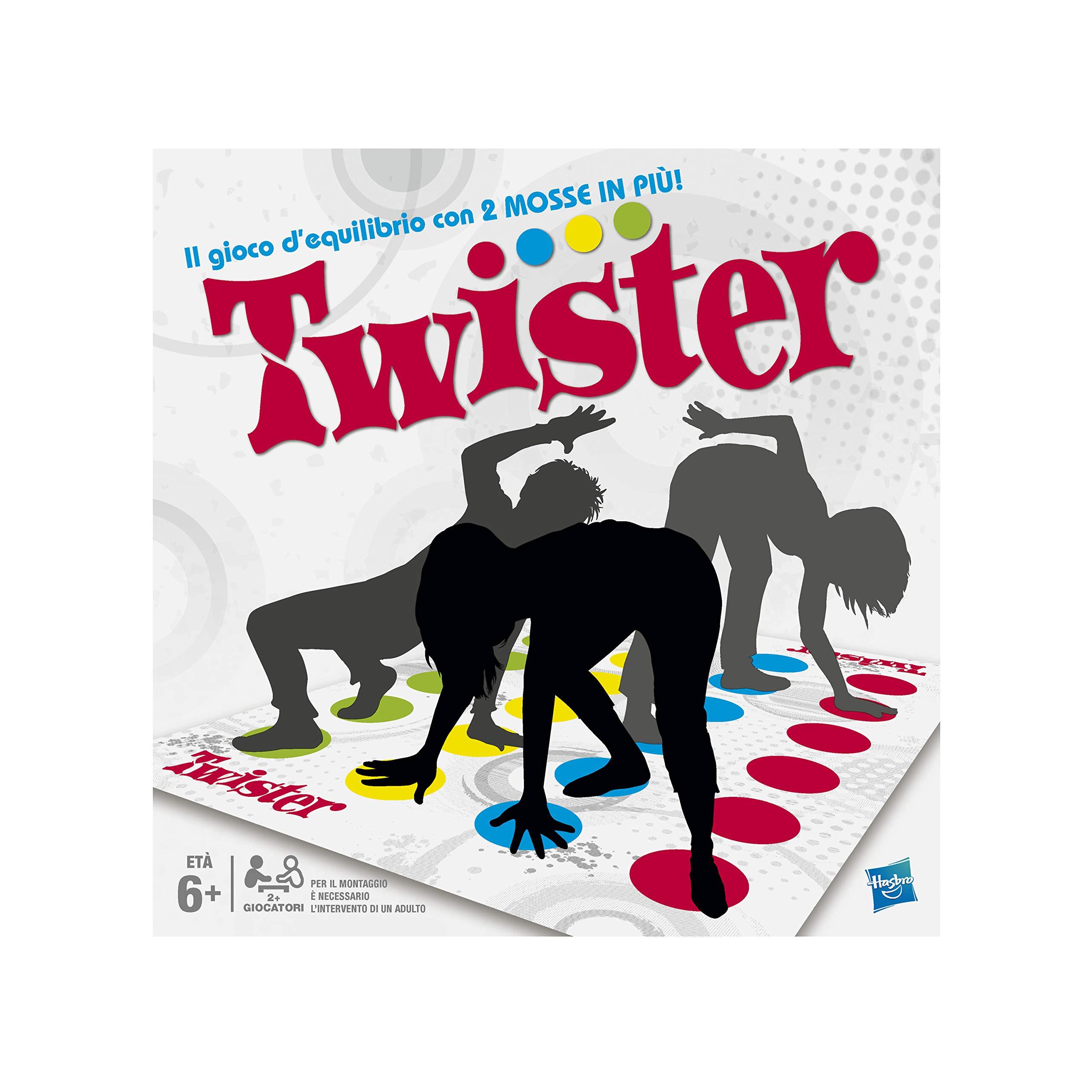 Hasbro - Twister (98831103), versión italiana: No Name: Amazon.es: Juguetes y juegos