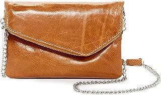 daria leather crossbody clutch