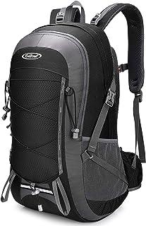 G4Free 45L Hiking Backpack with Rain Cover Lightweight Trekking Rucksack Waterproof Shoulder Daypack Travel Outdoor Bag fo...
