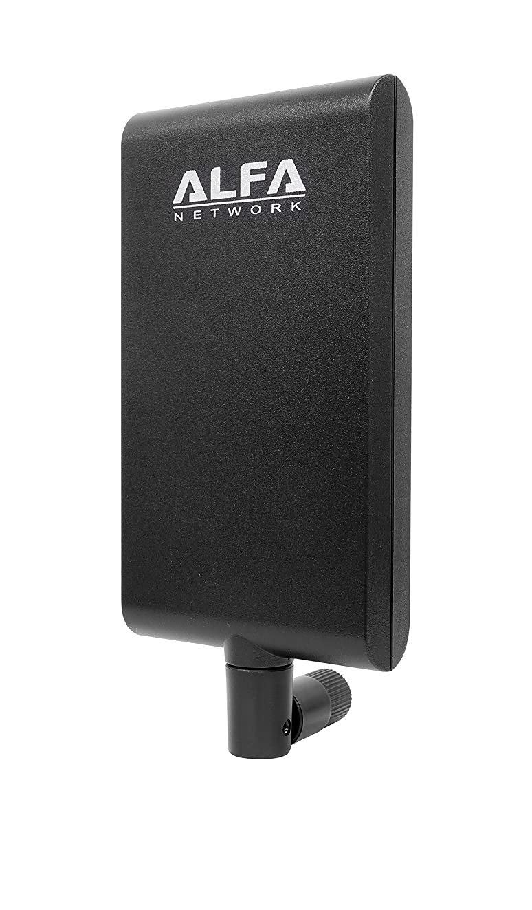 Alfa APA-M25 dual band 2.4GHz/5GHz 10dBi high gain directional indoor panel antenna with RP-SMA connector (compare to Asus WL-ANT-157)