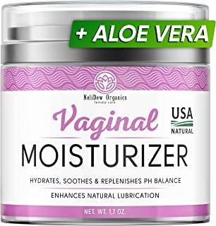 Delicate Vaginal Moisturizer - Vulva Cream Made in USA - Relieves Irritation, Vaginal Dryness, Itching, Burning, and Redness - Natural Vulva Care and Intimate Skin Cream - Estrogen-Free Vaginal Cream