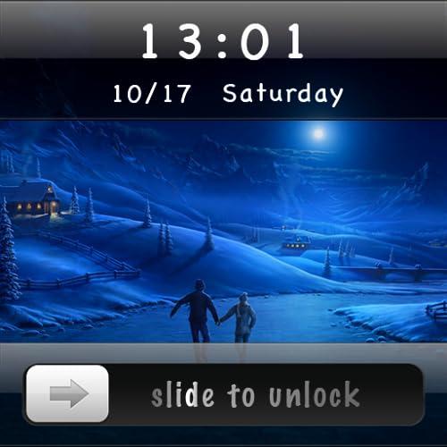 Silde To Unlock - Moon Locker