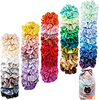 Christmas Stocking Fillers Party Bag Fillers Pack of 200 Girls Hair Bobbles Ponios Hairband Baby Ponytail Holders Black