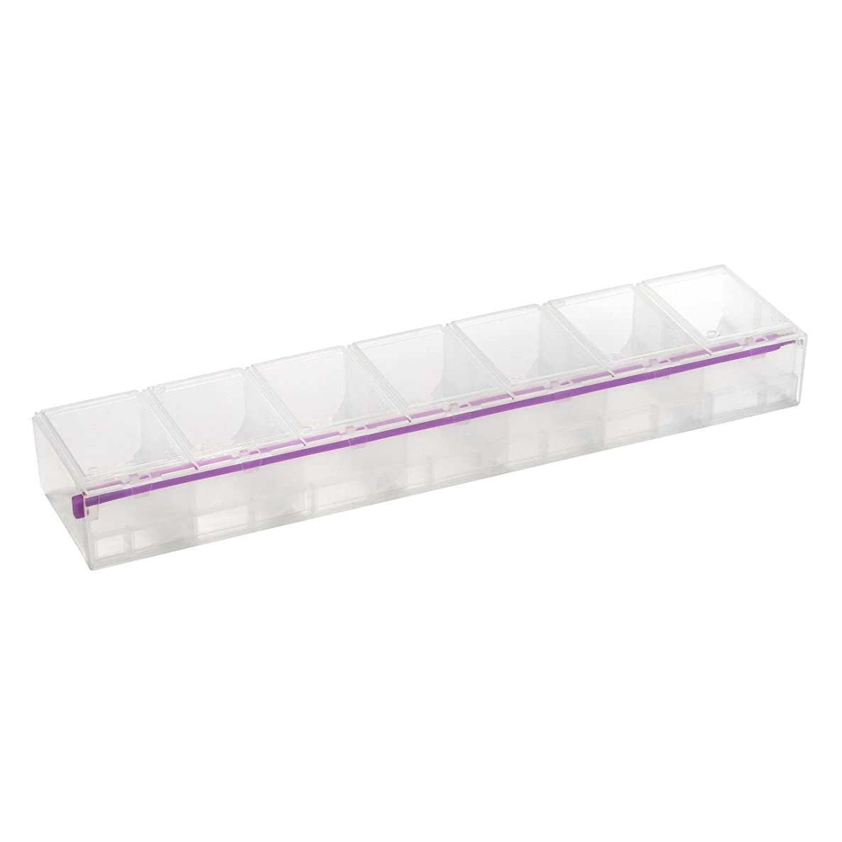Craft Mates Lockables Triple Extra Large (3 XL) Organizer with Seven (7) Locking Compartments