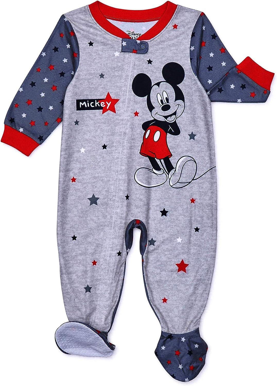 Disney Mickey Mouse Pajamas for Babies Footed Blanket PJ Sleeper