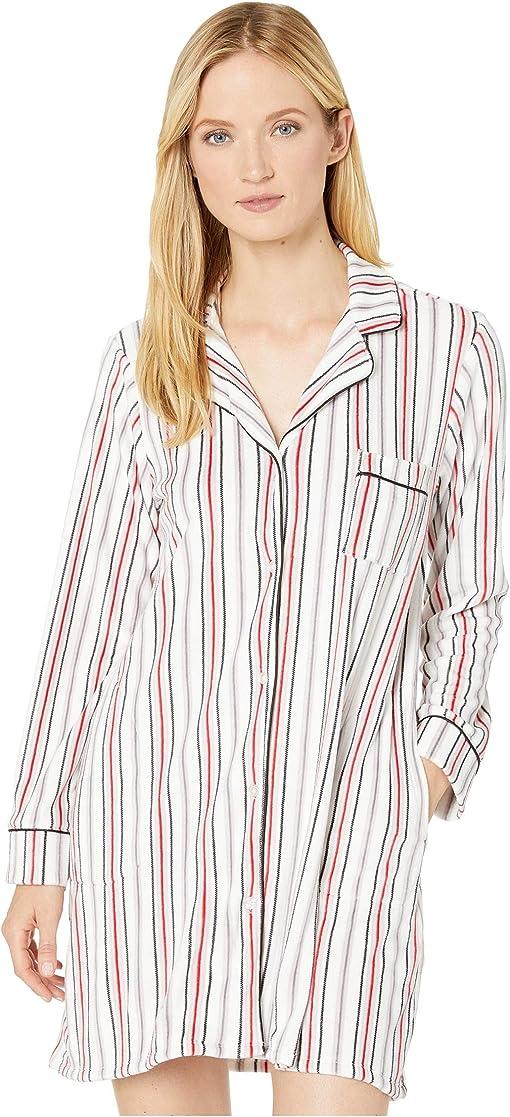 Winter White Stripe