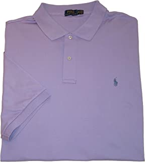 Ralph Lauren Polo Mens Big and Tall Stretch Cotton Polo Shirt