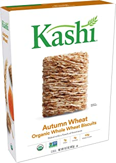 Kashi Organic Autumn Wheat Breakfast Cereal - Non-GMO Project Verified, Vegan, 16.3 Ounce Box