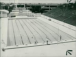 Vintage photo of mcdonalds university of southern california swim stadium