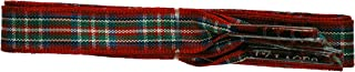 Branded Flat 10mm Scottish Tartan dress shoe Laces fashion shoes new