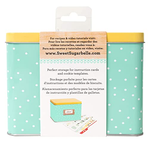 Sweet Sugarbelle Recipe Card Tin by American Crafts