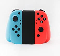 $29 » RoseBilly Redesigned Hand Grip Controller For Nintendo Switch Neon Red Neon Blue