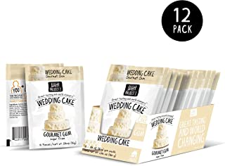 Project 7 Sugar-Free Gourmet Gum | Wedding Cake | Gluten Free | 12 Count (Pack of 12)