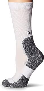 thorlos womens Thorlos Lite Running Thin Padded Crew Socks Running Socks - white