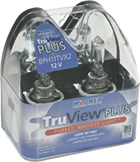Wagner H11 TruView Replacement Bulb, (Pack of 2)