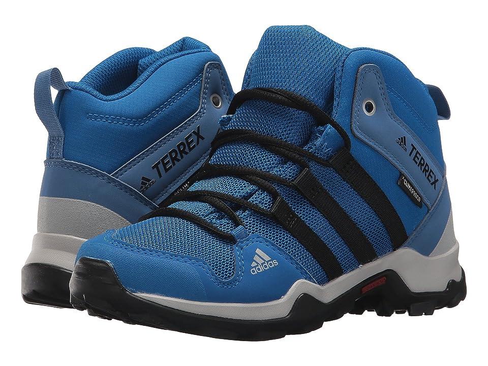 adidas Outdoor Kids Terrex AX2R Mid CP (Little Kid/Big Kid) (Black/Black/Black) Boys Shoes