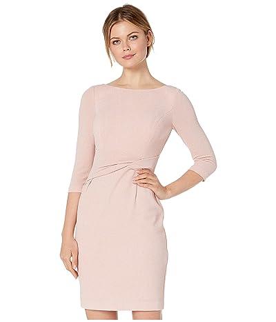Vince Camuto 3/4 Sleeve Sheath Dress (Blush) Women