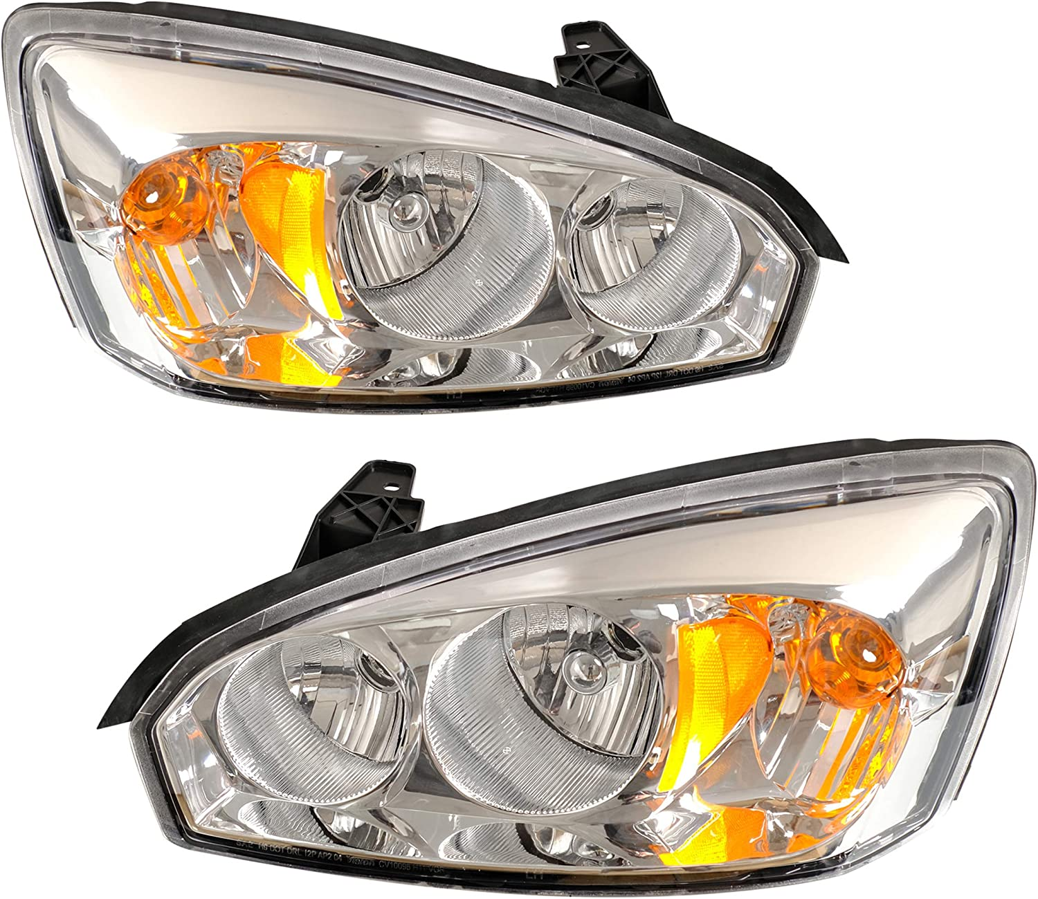 (Update)2Pcs Headlight Assembly for 2004 2005 2006 2007 2008 Che