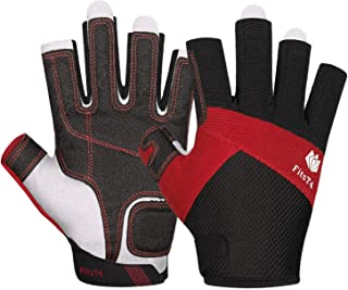 leather sailing gloves