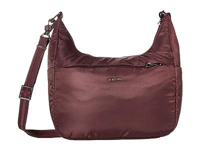 Pacsafe Cruise All Day Crossbody (Pinot) Handbags
