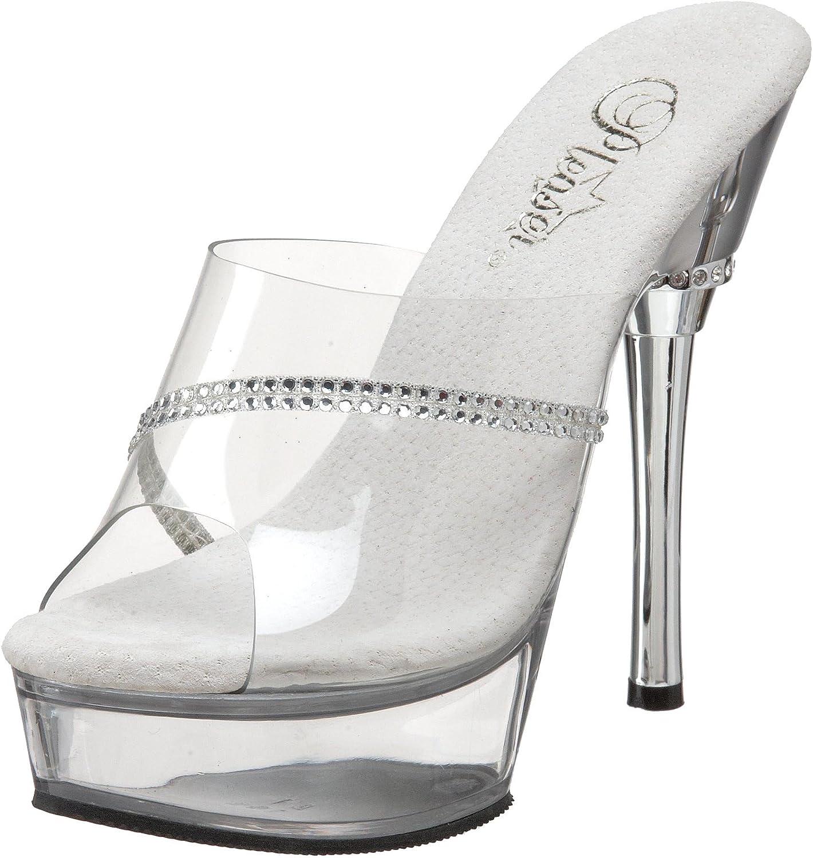 Pleaser Women's Allure-601R Platform Sandal