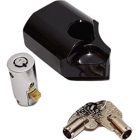 SaBellCo 2016-2021 Tailgate Lock - Anti-Theft Lock - Black - for Toyota Tacoma