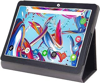 タブレットケース10.1インチPU皮革スタンド機能タブレットカバー 全面保護専用PCケース脱着式 二つ折