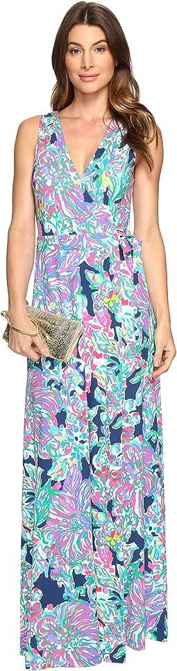 Lilly Pulitzer - Delfina Maxi Wrap Dress