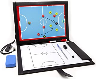 Wiseplayerfc Carpeta Táctica para Entrenador de Fútbol Sala con Bolsillo y Accesorios
