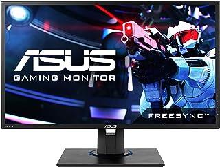 ASUS VG245HE Monitor de Videojuegos de 24 Pulgadas Full HD 1080p 1ms Dual HDMI Eye Care con FreeSync/Adaptive Sync