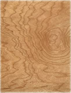 Cherry Wood Veneer Cardstock Paper from Cardstock Warehouse 8.5 x 11 inch - .012 inch Thick - 10 Sheets