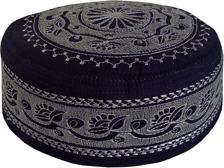 Eid Namaz Kufi Men's Koofi Prayer Limited price sale Pakistani Hand Cap San Diego Mall Embroidered