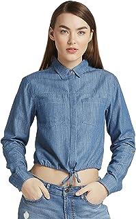 Lee Cooper Women 3017685 LCU20DRWSHRT Shirts & Blouses