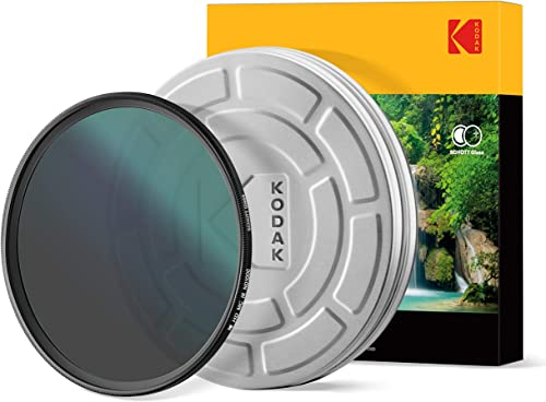 high quality KODAK 49mm Schott Glass IR Neutral Density 1000 Filter | Super outlet online sale Slim Waterproof Polished Nano Multi-Coated 16 Layers | Prevents Overexposure Reduces Infrared | Retro Case & Filter Guide | high quality PhotoGear + online