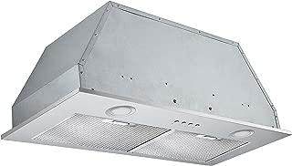 Ancona Inserta Plus Built-In Range Hood, 28-Inch, Stainless Steel