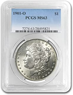 1901 O Morgan Dollar MS-63 PCGS $1 MS-63 PCGS
