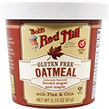 Bob's Red Mill Gluten Free Oatmeal Cup, Brown Sugar & Maple, 2.15-Ounce (Pack of 12)