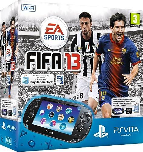 PlayStation Vita (PS Vita) - Console [Wi-Fi] con FIFA 13 (via PSN) e Memory Card 4 GB [Bundle]