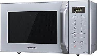 Panasonic NN-K36HM Horno microondas, panel táctil, 800 W, 23 litros, Plateado (Versión Importada)