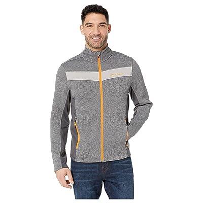 Spyder Encore Full Zip Core Sweater (Ebony Grey) Men