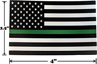 Thin Green Line Support US Army Vinyl Heavy Duty Sticker Decal 4