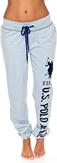 U.S. Polo Assn. Womens French Terry Jogger Lounge Sleep Sweatpants Pajamas