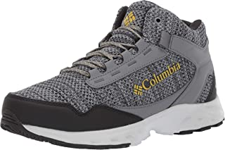 Columbia Men's Irrigon Trail Mid Knit Outdry Boot, Waterproof, High-Traction Grip