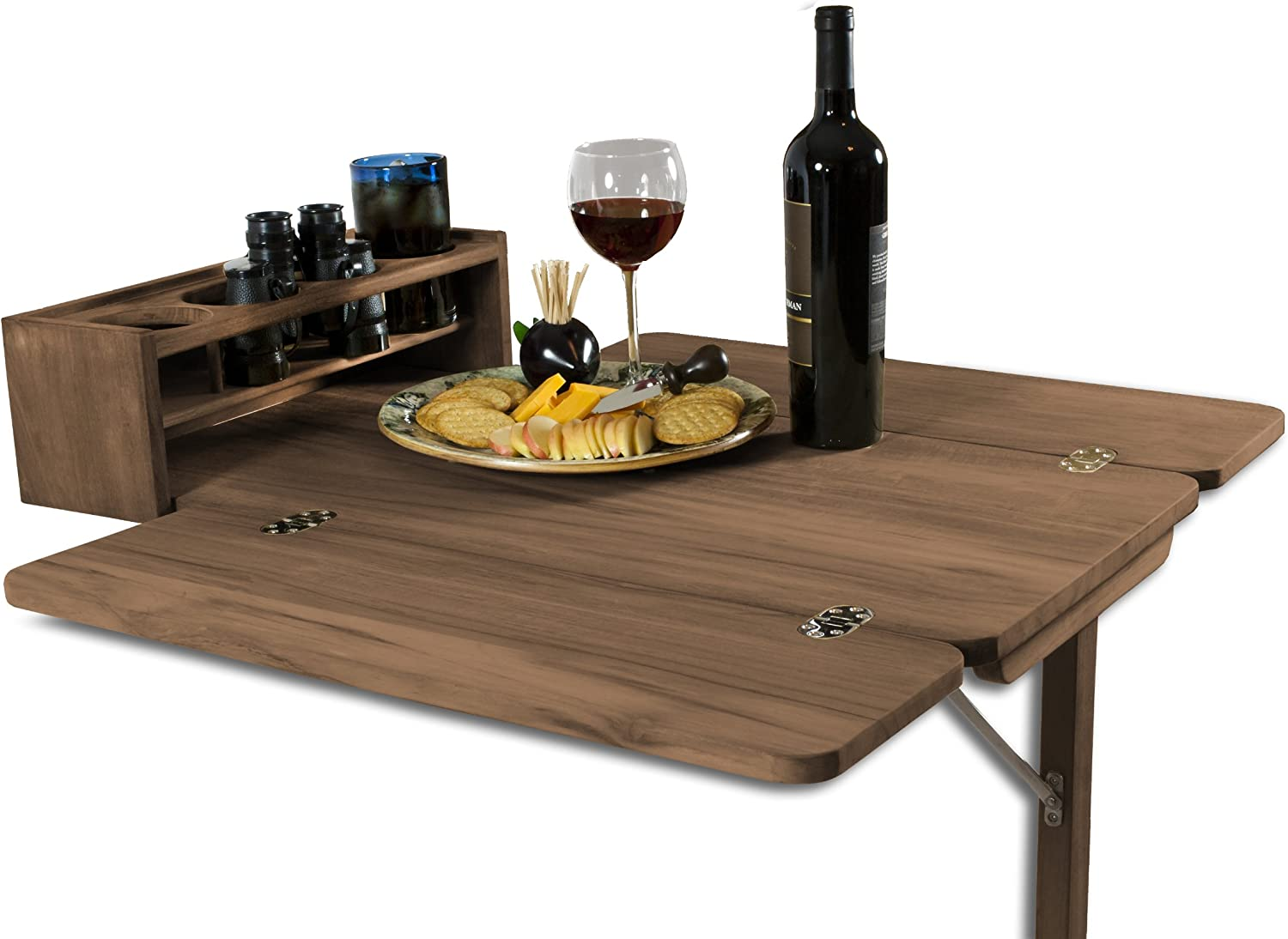 SeaTeak 60392 Cockpit Table with Folding and H Milwaukee Mall Dallas Mall Four Leaves Drink