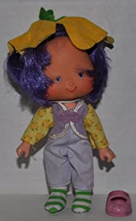 Vintage Almond Tea (1979) (Doll, Hat, Outfit, Tights, & Shoe) - Strawberry Shortcake (Retired) Doll - Collectible Replacement Toy - Loose (OOP Out of Package & Print)