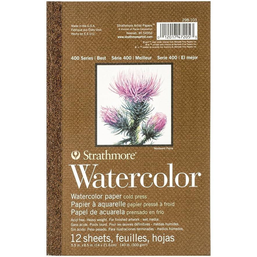 Strathmore 298-103 400 Series Watercolor Pad, 5.5
