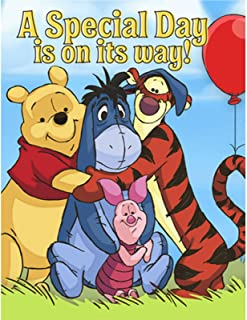 Disney Pooh and Pals Invitations (8)