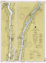 Map - Hudson River -Wappinger Creek To Hudson, 1995 Nautical NOAA Chart - New York (NY) - Vintage Wall Art - 44in x 61in