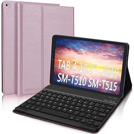 DINGRICH Funda Teclado Español Ñ para Samsung Galaxy Tab A 2019 10.1