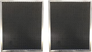 Replacement Carbon Pre/Post Filter- 15-1/4 X 21 X 7/16 - Compatible with Emerson/White-Rodgers/Electro-Air Models SST1000, 10C26S-010, SRP-12, 12C11S-010, ACM1000 - (2-Pack)
